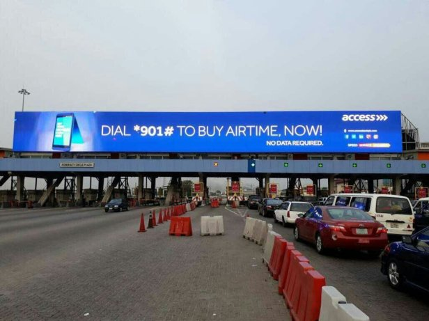 LEKKI toll gate billboards cheap cost of Advertising