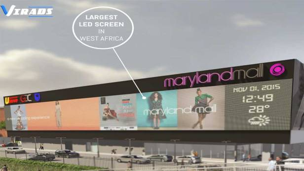 Maryland-Mall-LED-Screen-Cost-Billboard-Advertising-Outdoor-Advertising-Nigeria