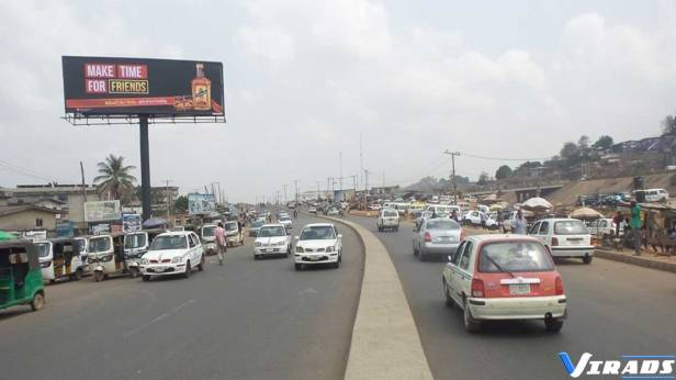 Unipole-Billboard-Advertising-Outdoor-Advertising-Nigeria