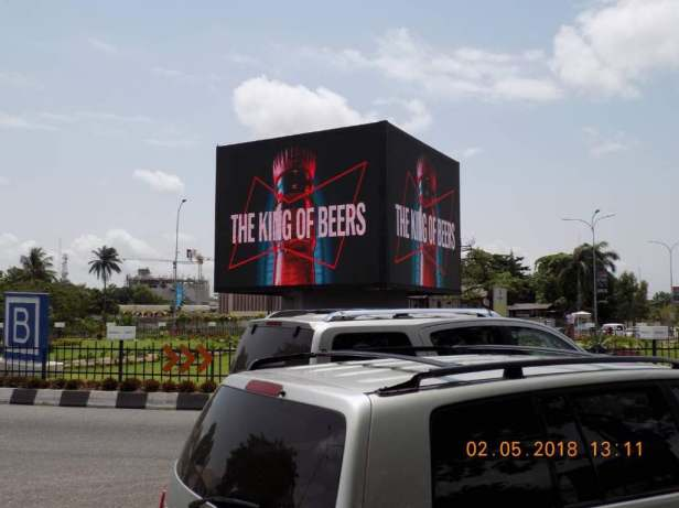 Alexandra Roundabout LED screen