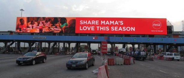 Lekki Toll Gate Billboard Chevron Roundabout